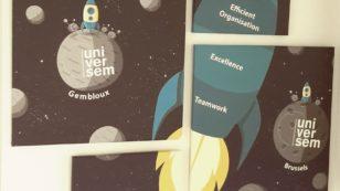 Teamwork one of Universem's core values